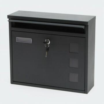Mailbox Design postaláda V12 - antracit szürke