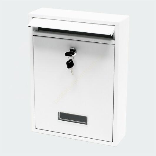 Premium Postbox postaláda V11 - fehér horganyzott