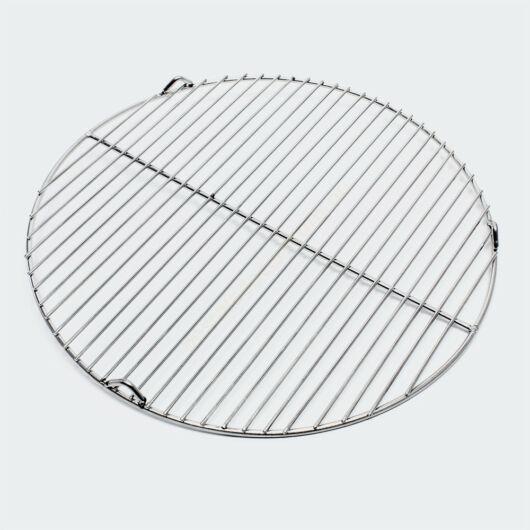 Rozsdamentes acélból  készült - 55 cm-es grillrács