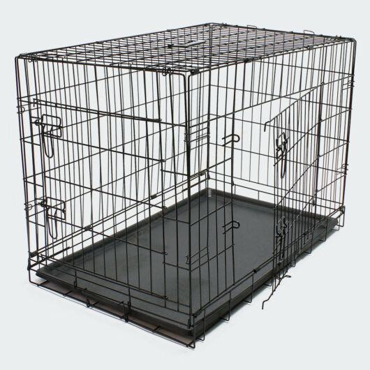 Összecsukható szállító ketrec - állatok számára - XL