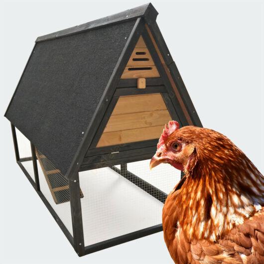 Csirkeház - szabadon futóval - szárnyasok részére