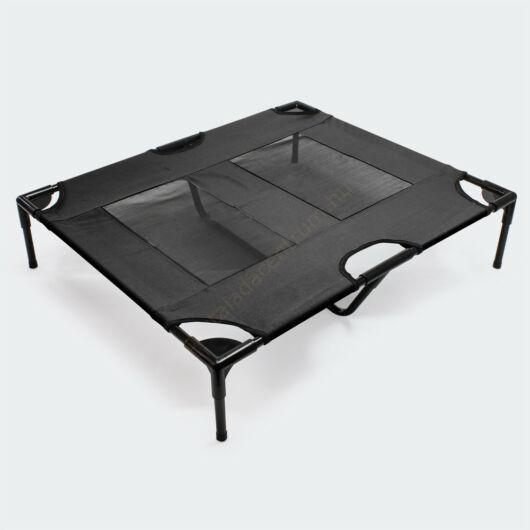 Kültéri fekete háziállat napozóágy, pihenőágy - 92x77x20cm-ig, - akár 25 kg-ig