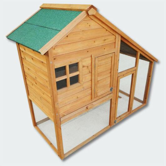Rágcsáló ház, nyúl, csirke kooperatív kisállat ház - szabad tartási felülettel