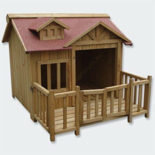 Luxus kutyaház - XL - erkélyes terasszal