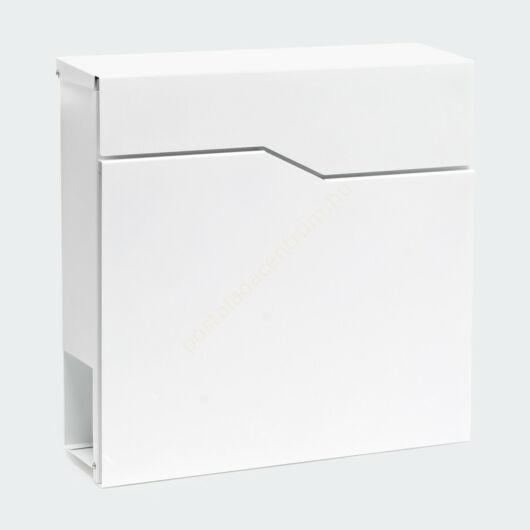 Design postaláda újságtartóval V19 - fehér