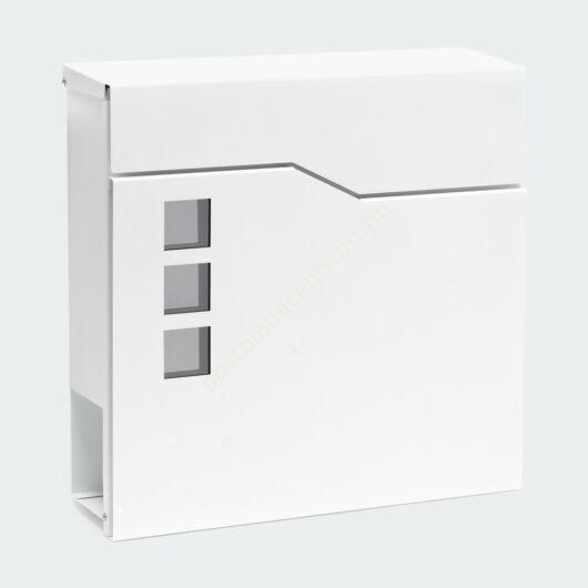 Design postaláda újságtartóval V20 - fehér