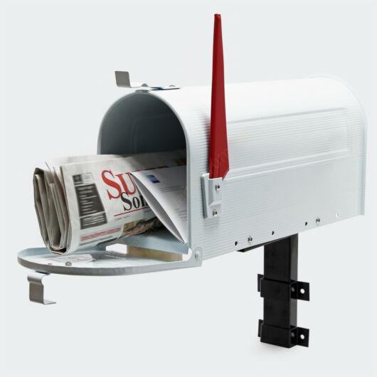 US Mailbox, fehér színben, amerikai design - falikarral