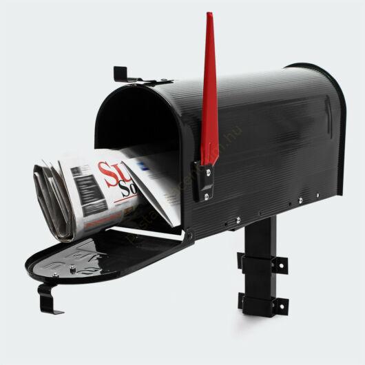 US Mailbox, fekete színben, amerikai design - falikarral