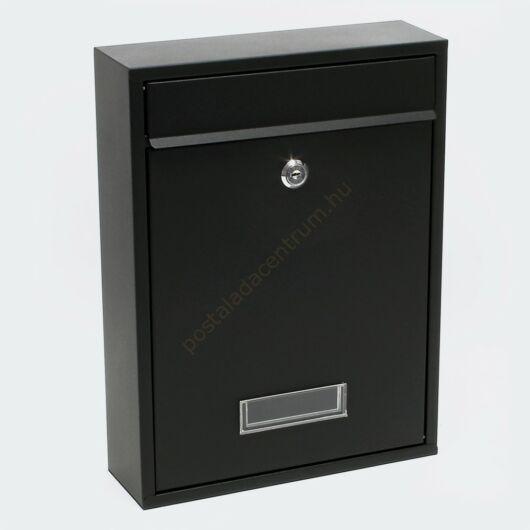 Premium Postbox postaláda V1 - fekete porfestett