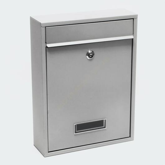 Premium Postbox postaláda V1 - szürke porfestett