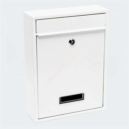 Premium Postbox postaláda V1 - fehér porfestett