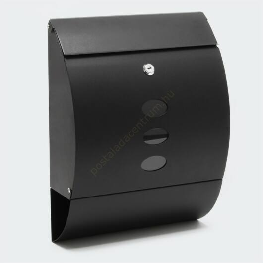 Design postaláda újságtartóval V18 - fekete