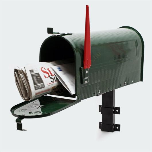 US Mailbox, méregzöld színben, amerikai design - falikarral
