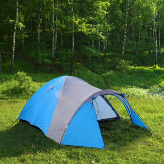 Igloo sátor 4 fő részére - 450 x 240 x 180cm - 3000 mm vízoszlop nyomás