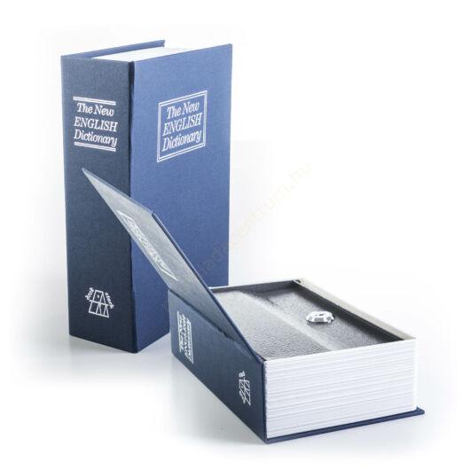 G21 könyvszéf 180 x 115 x 55 mm, kék